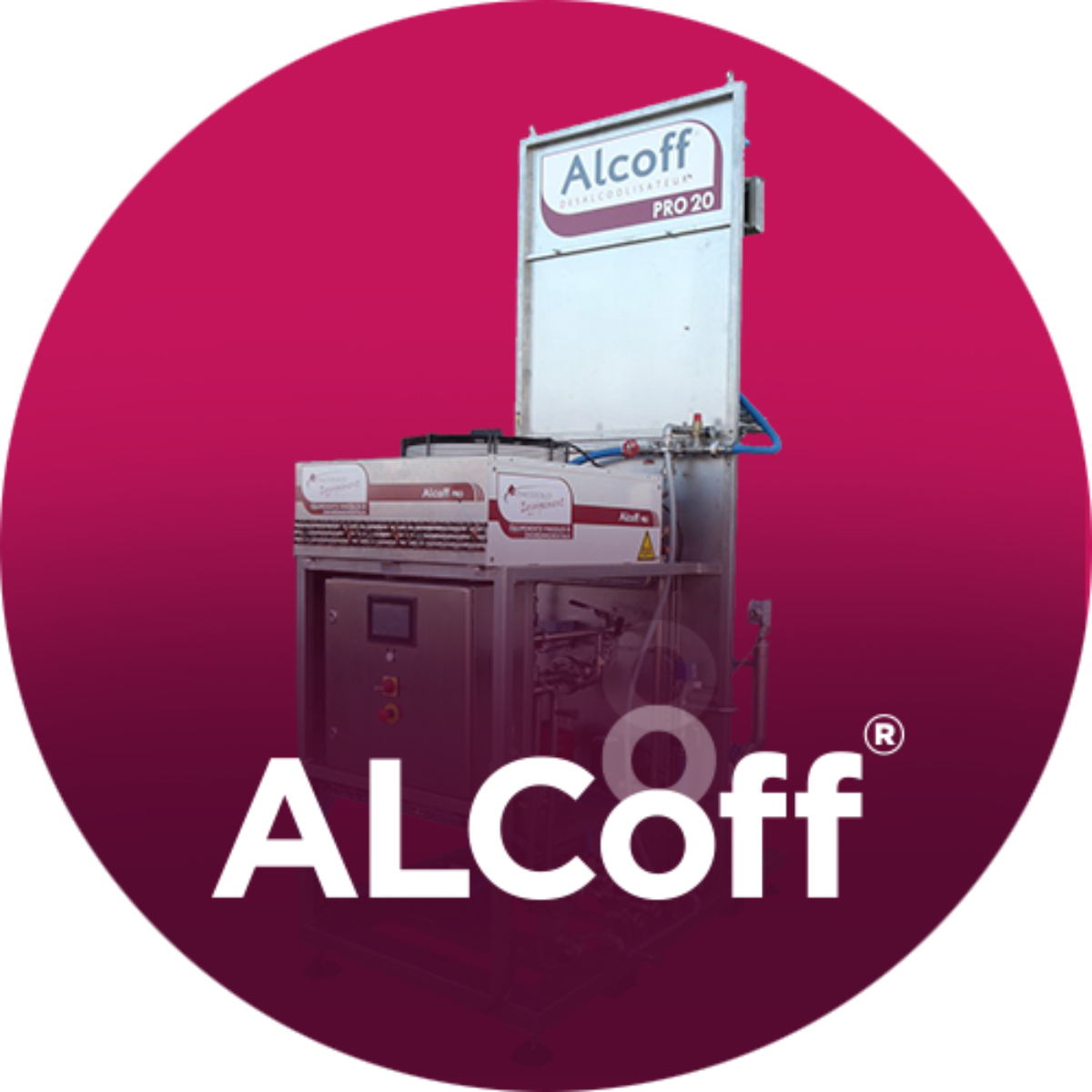 Alcoff® dealcoholisation unit