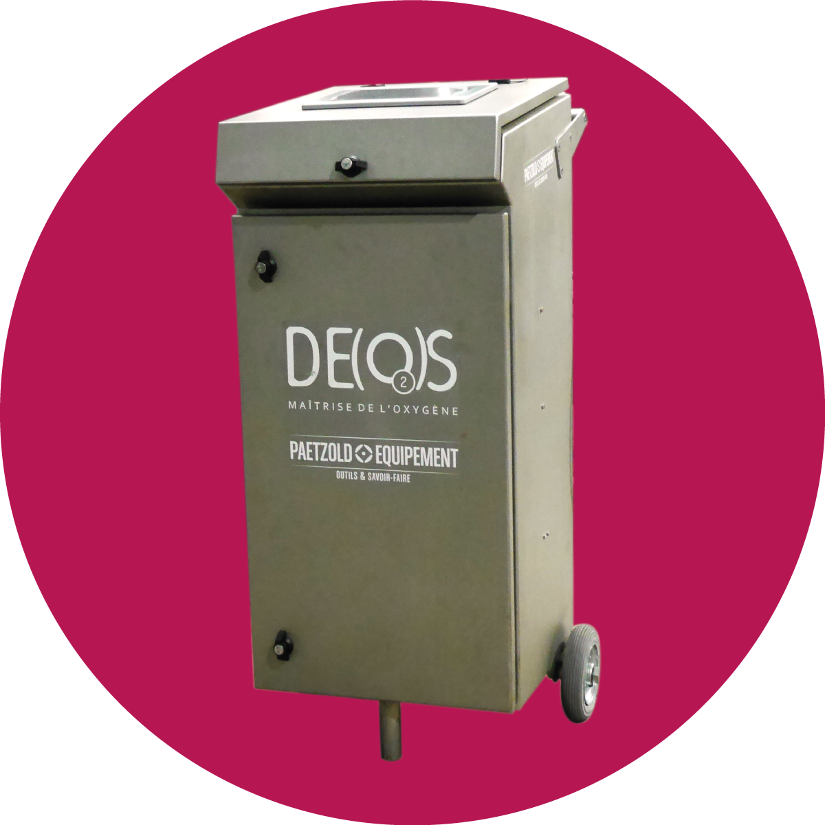 Deos® deoxygenation device / controlled oxygenation device