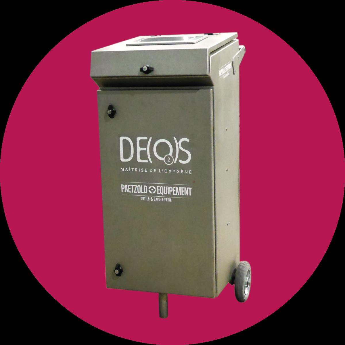 Deos® : désoxygénation - oxygénation contrôlée