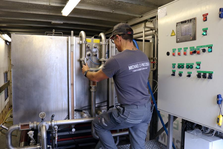 Stabilisation Du Vin Technicien Controle Thermoflash C