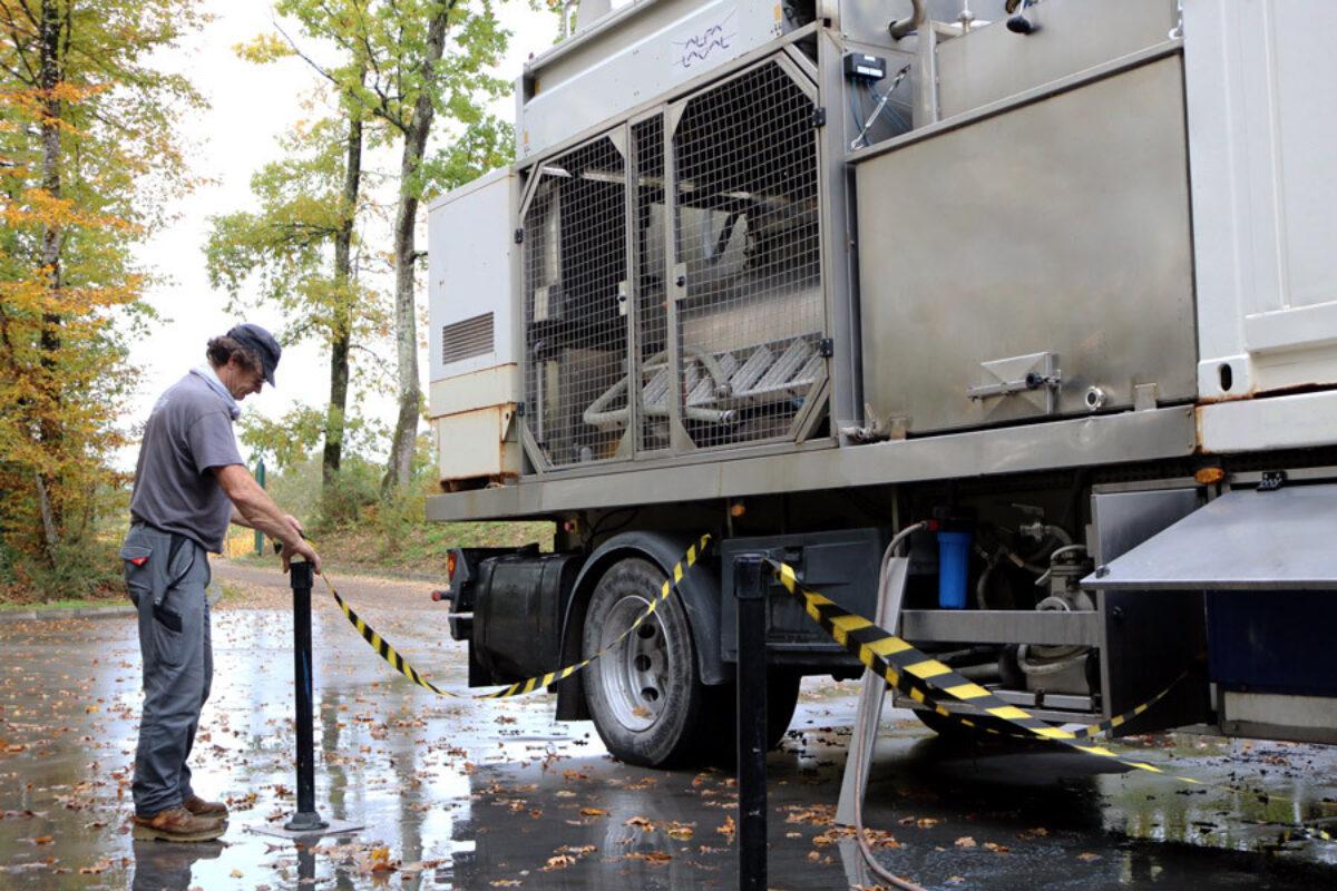 Desalcoolisation Camion Technicien G