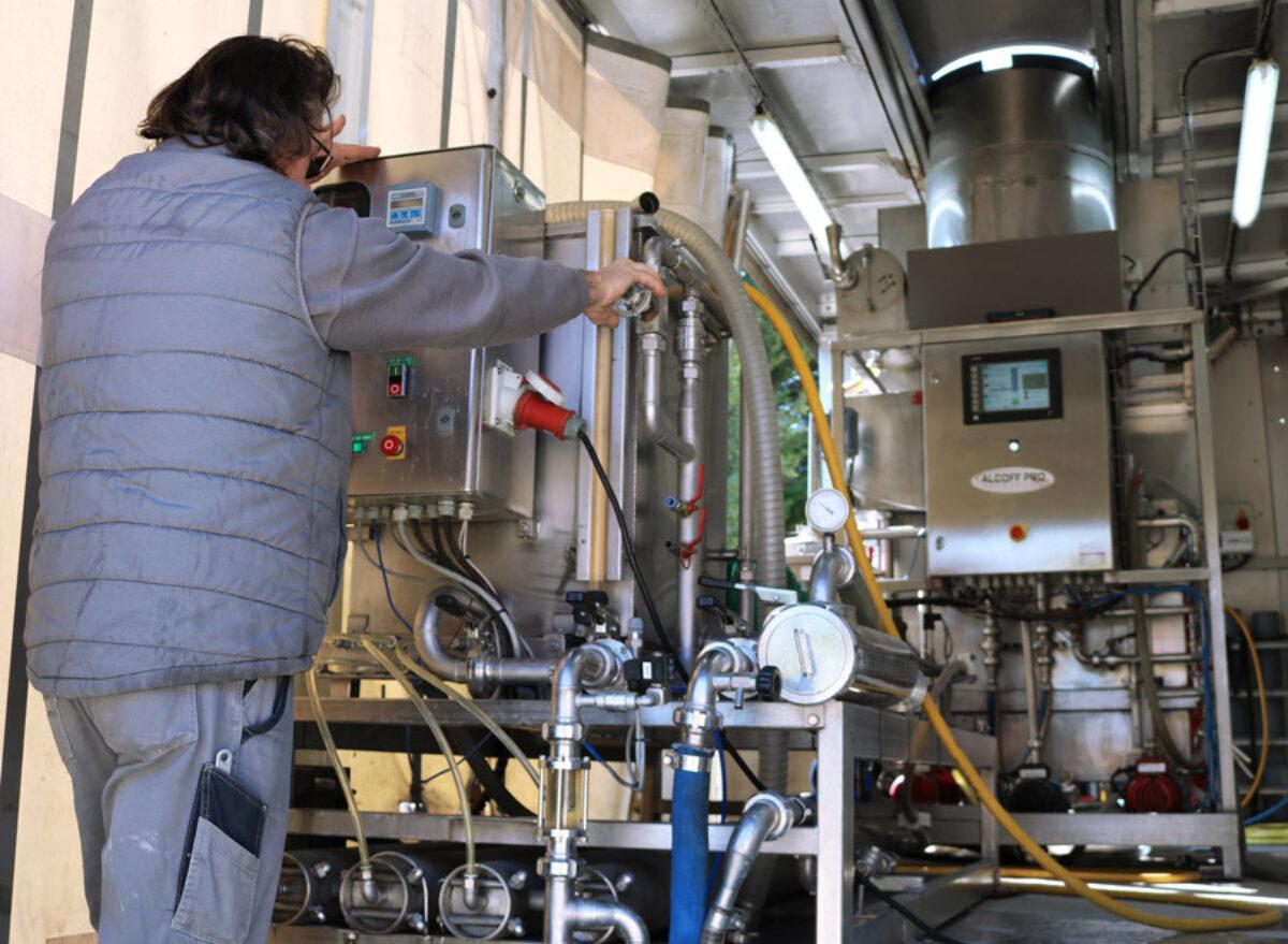 Desalcoolisation Controle Technicien G
