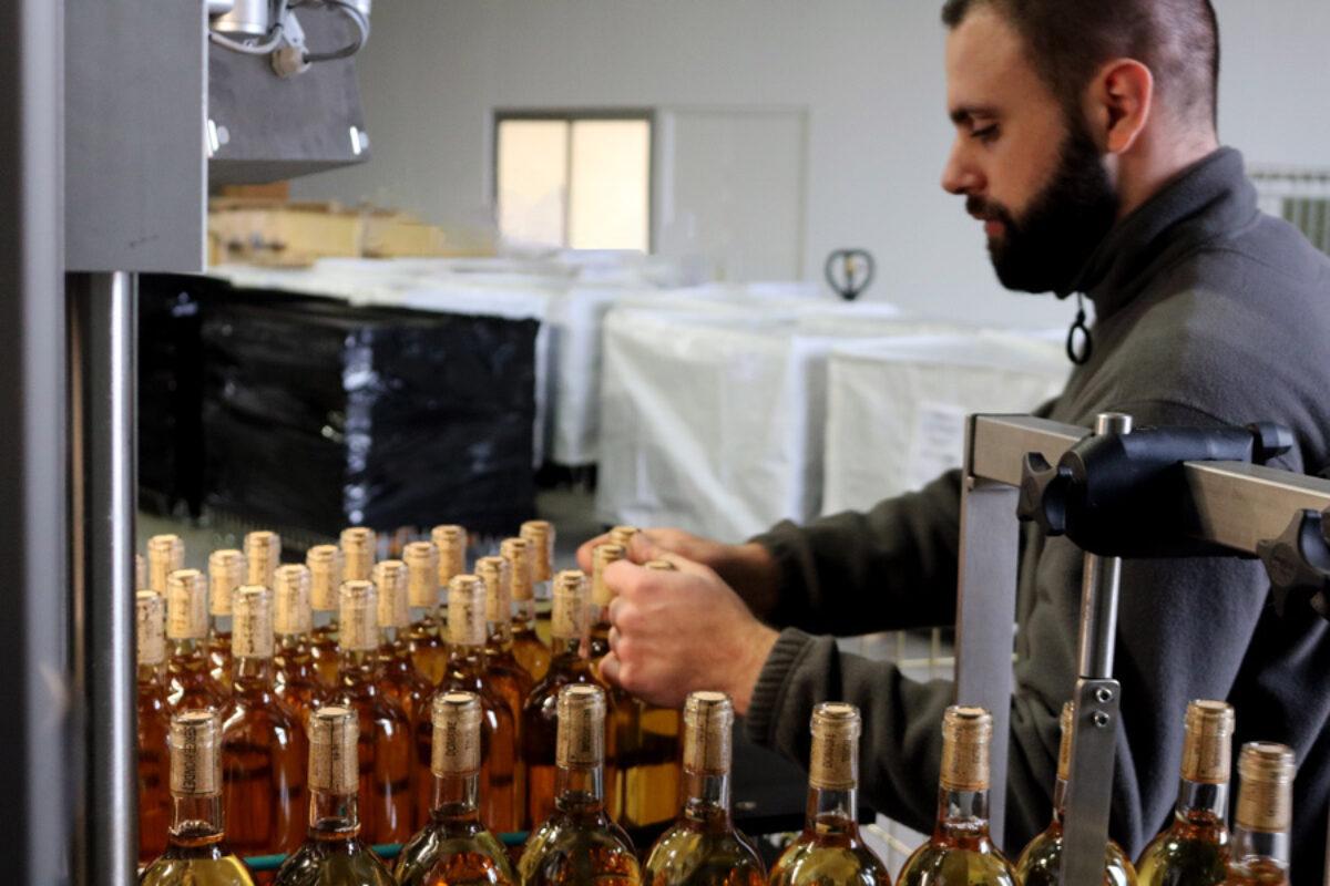 Remplmacement De Bouchon Des Millesimes Recents Vin Vlanc Technicien Recork G